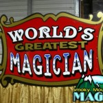Magician Stand - Signage