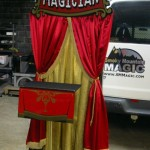 Magician Stand - Front View