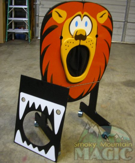 Lion Tamer Head CHopper - by Smoky Mountain Magic